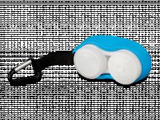 Контейнер за лещи с карабинер- син
