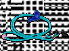 Верижка за очила в синьо  – делфин
