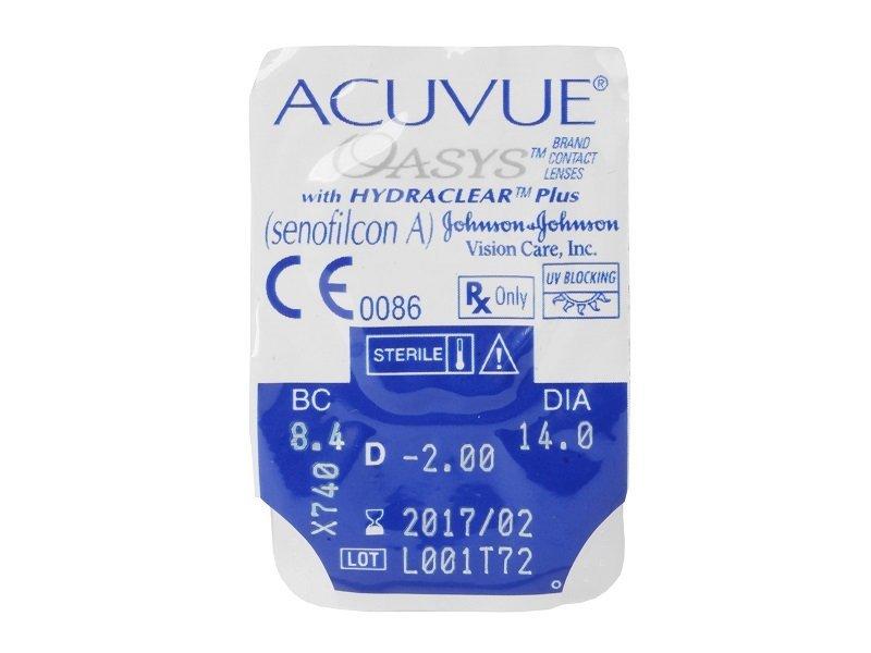 Acuvue Oasys (6лещи)
