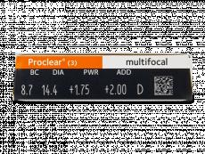 Proclear Multifocal (3лещи)