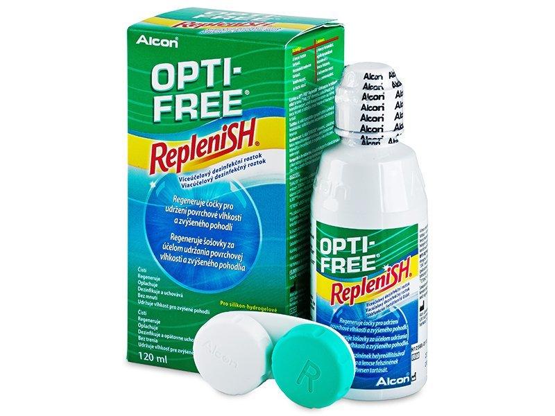 Разтвор OPTI-FREE RepleniSH 120 ml