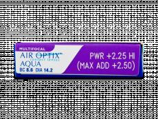 Air Optix Aqua Multifocal (3лещи)