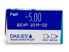 Dailies AquaComfort Plus (30лещи)
