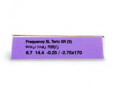 FREQUENCY XCEL TORIC XR (3лещи)