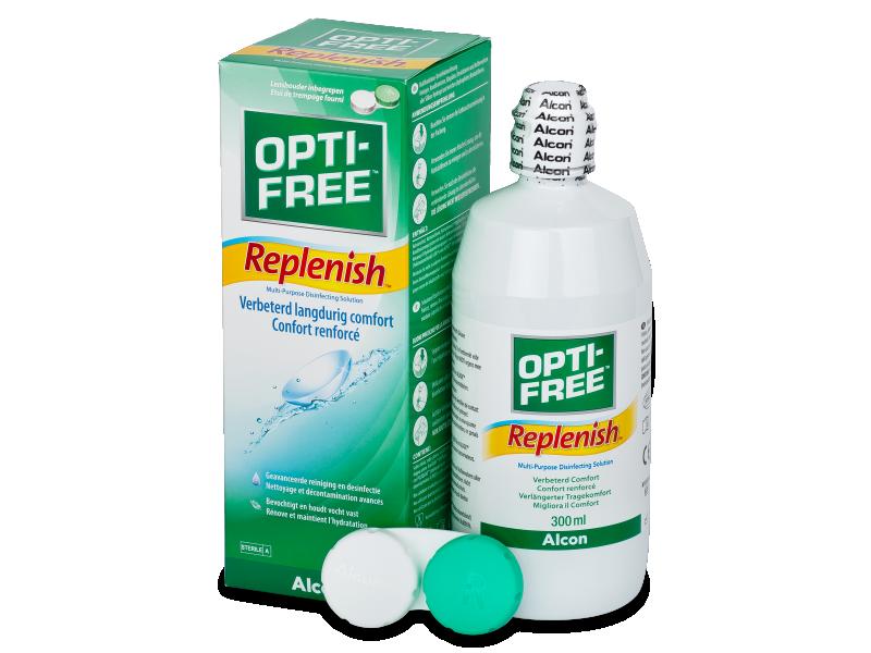 Разтвор OPTI-FREE RepleniSH 300 ml