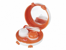 Вибриращ контейнер за почистване на контактни лещи