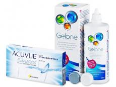 Acuvue Oasys (6лещи) +разтвор Gelone 360ml