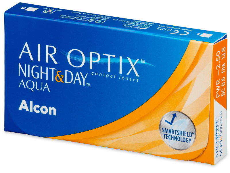 Air Optix Night and Day Aqua (3 лещи)