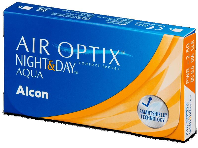 Air Optix Night and Day Aqua (3лещи)